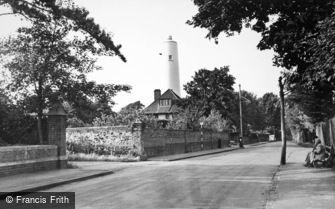 Burnham-on-Sea, the Old Lighthouse c1955