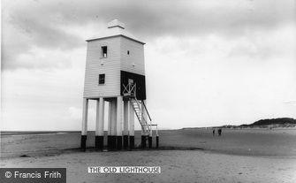 Burnham-on-Sea, the Old Lighthouse c1960