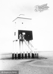 Burnham-on-Sea, The Old Lighthouse c.1960
