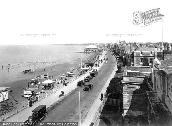 Burnham On Sea, The Parade 1926