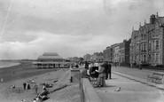 Burnham-on-Sea, The Promenade And Pavilion 1913