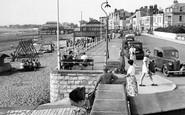 Burnham-on-Sea, The Promenade c.1955