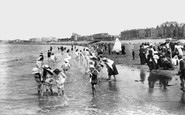 Burnham-on-Sea, The Sands 1907