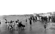 Burnham-on-Sea, The Sands 1913