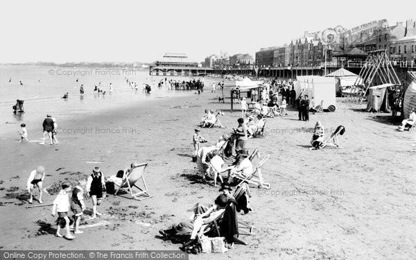 Burnham On Sea, The Sands 1926