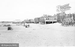 Burnham-on-Sea, The Sands c.1960
