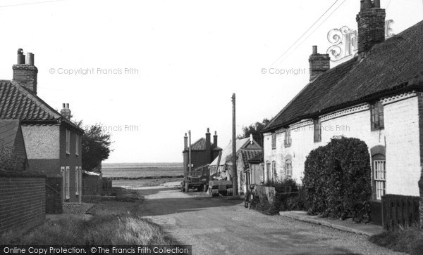 Burnham Overy Staithe, Creek Road c.1955