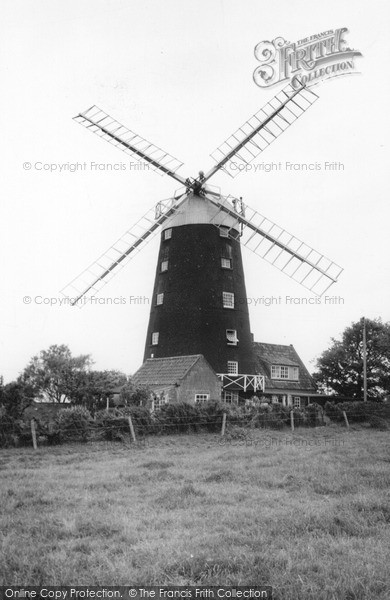 Burnham Overy Staithe, The Windmill c.1955