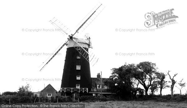Burnham Overy Staithe,the Windmill c1965,Norfolk