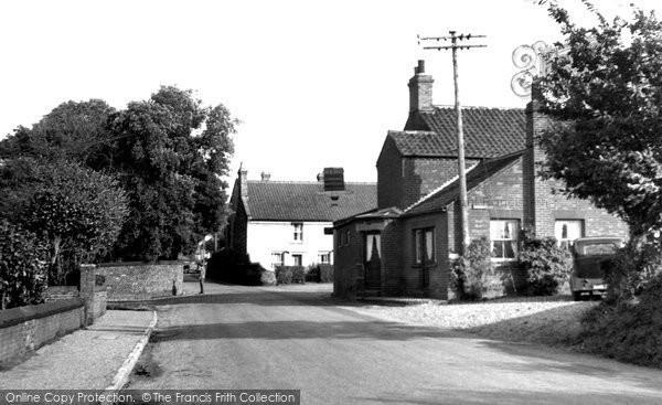 Burnham Overy Town, The Village c.1955