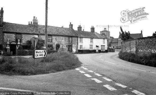 Burnham Overy Town, The Village c.1960