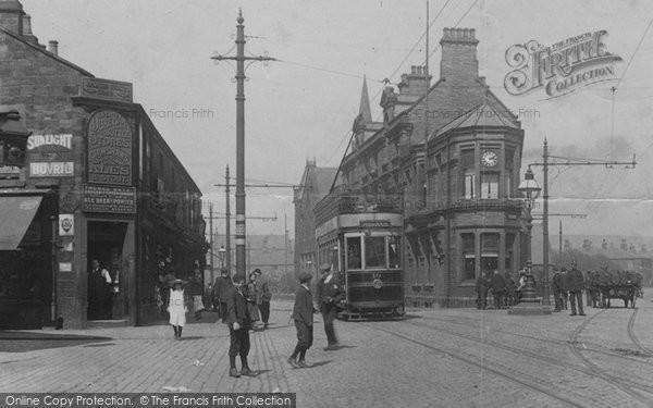 Burnley, Duke Bar Bottle Stores 1906