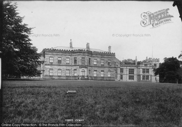 Burnley, Huntroyde Hall 1895