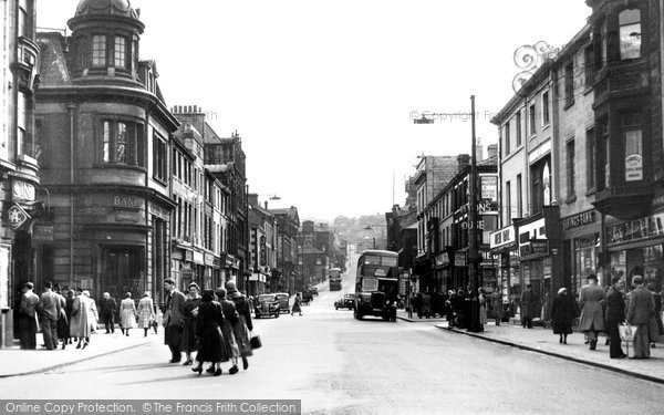 Photo of Burnley, Manchester Road 1952