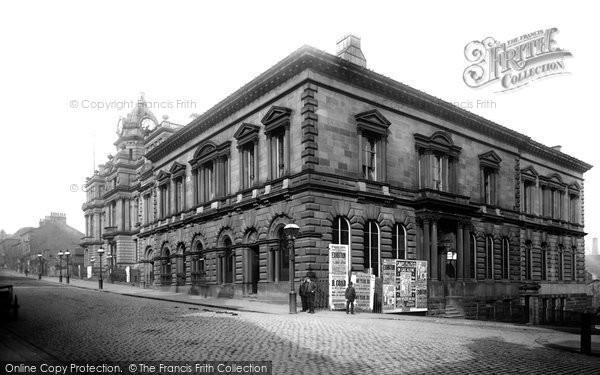 Burnley, Mechanics' Institute 1895