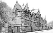 Burnley, Municipal College c.1955
