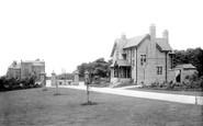 Burnley, Queen's Park Entrance 1895