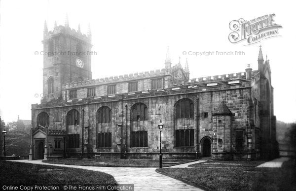 Burnley, St Peter's Church From The South West 1895