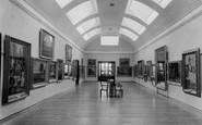 Burnley, The Art Gallery, Towneley Hall c.1955