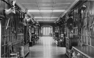 Burnley, The Long Gallery, Towneley Hall c.1955