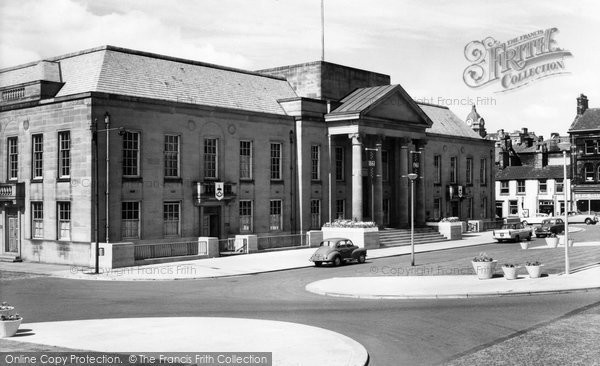 Burnley, The New Police Station 1961