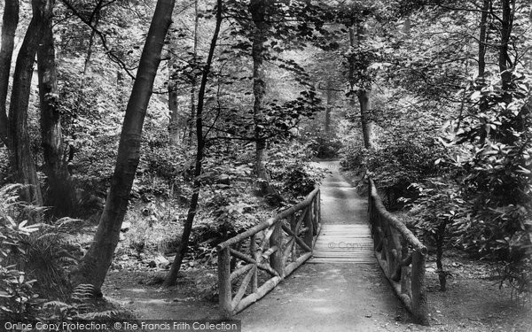 Burnley, Towneley Hall Woods 1906