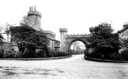 Burnley, Towneley Park Gate 1895