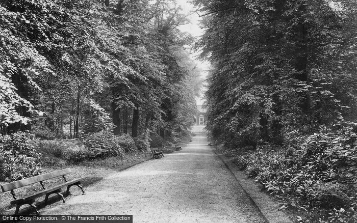 Burnley, Towneley Park, Lime Avenue 1906