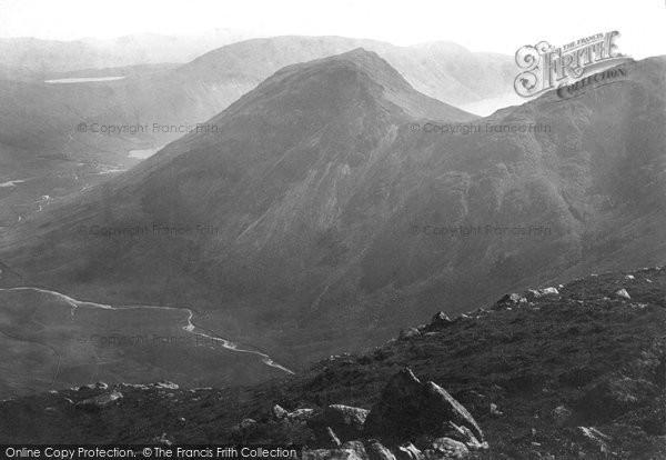 Photo of Burnmoor Tarn, From Pillar Mountain 1889