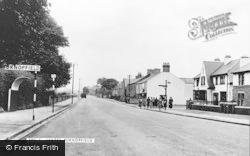 Burnopfield, Leazes c.1955