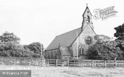 Burnopfield, The Church Of The Sacred Heart, Byermoor c.1960