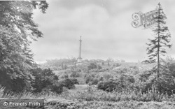 Burnopfield, The Gibside Monument c.1960