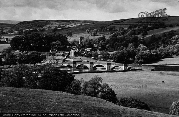 Photo of Burnsall, And Langerton Hill c.1935