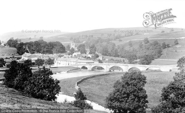 Photo of Burnsall, From The South 1900