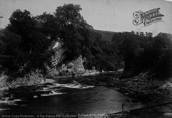 Photo of Burnsall, Loup Scar 1900