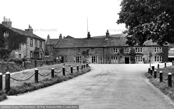 Photo of Burnsall, Red Lion Hotel c.1955