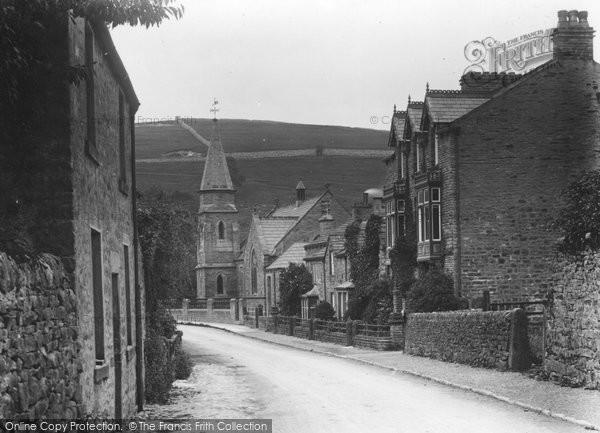 Burnsall, The Street c.1935
