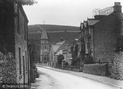 Burnsall, The Street c.1935