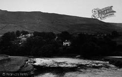 Burnsall, View From The Bridge c.1955