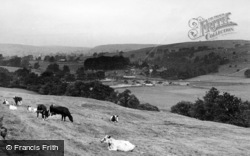 Burnsall, View From The Fell c.1955