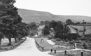 Burnsall, View From The Red Lion Hotel c.1955
