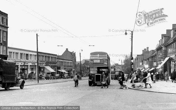 Photo of Burnt Oak, Edgware Road c1955
