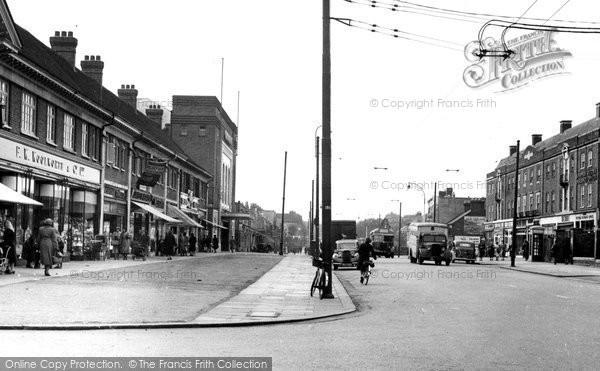 Photo of Burnt Oak, Edgware Road c.1955