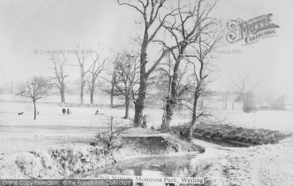 Photo of Burnt Oak, Silkstream, Montrose Park c.1940
