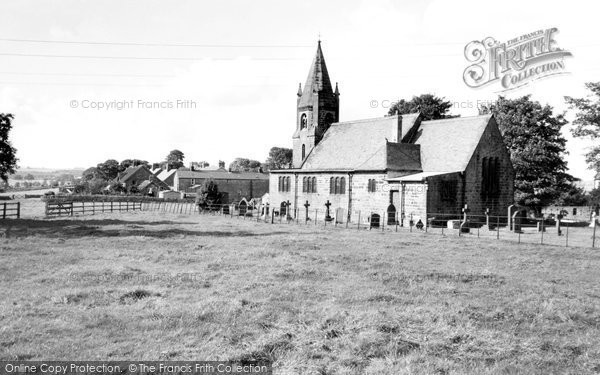 Burnt Yates, St Andrew's Church And Village c.1960