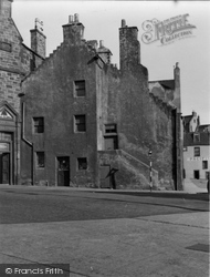 Burntisland, Corner Of High Street And Harbour Place 1953