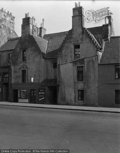 Photo of Burntisland, High Street 1953