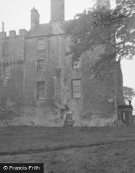 Burntisland, Rossend Castle, From The East 1953