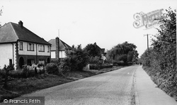 Burpham, Burpham Lane c.1955