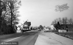Burpham, London Road c.1955